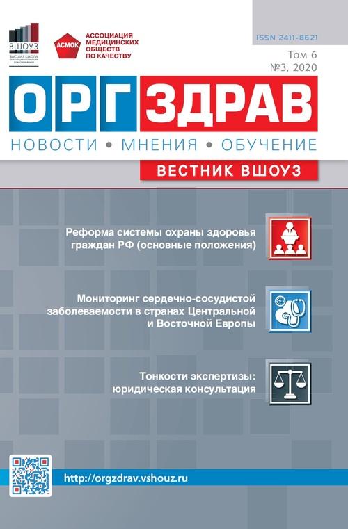 ОРГЗДРАВ № 3 (21). 2020